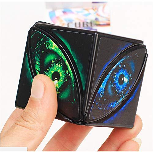 Magic Speed Cubo Mágico Cubo Profesión Shape Puzzle Educación Extraño Cubos Juego De Niños del Regalo De Los Juguetes De,Magic Eye
