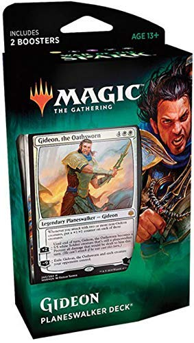 Magic The Gathering C57800000 War of The Spark-Planeswalker (baraja enviada al azar ya sea Gideon o Jace) , color/modelo surtido