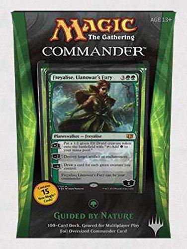 Magic The Gathering Comandante 2014guiada por naturaleza cubierta