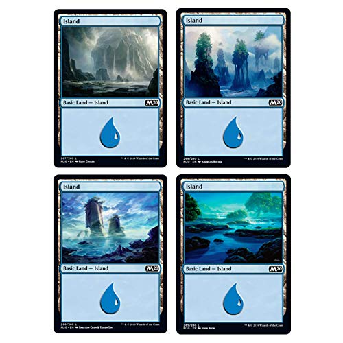 Magic The Gathering- Estación Terrestre (400 Cartas) (Wizards of The Coast Core Set 2020)