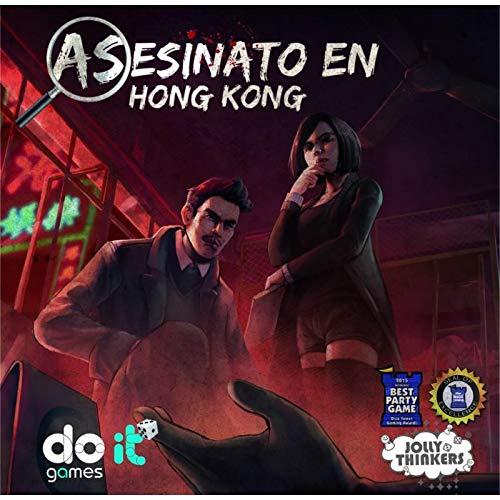 Maldito Games Asesinato en Hong Kong Juego de Mesa [Castellano]