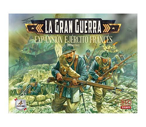 Maldito Games La Gran Guerra: Ejercito Frances - Expansión Juego de Mesa Castellano