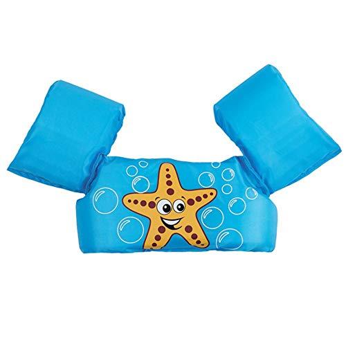 Manguitos bebé para Aprender a Nadar gradualmente, para niños de 1 a 7 años, Traje de Espuma de baño de Sistema de flotación para niños, Tortuga/Estrella de mar/Concha/Cangrejo