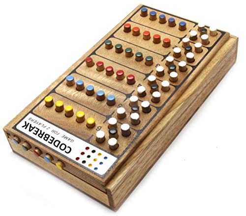 Mastermind Wooden Brain Teaser Game