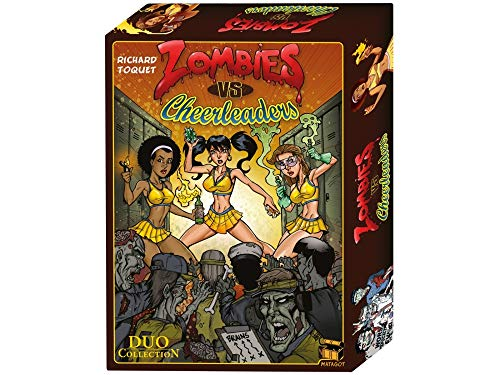 Matagot- Juego de Cartas Zombies vs. Cheerleaders (Asmodee)