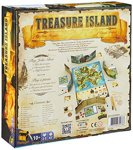 Matagot MTGISLE001 Treasure Island, colores variados , color/modelo surtido