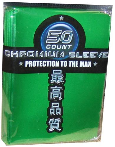 Max Protection Tarjeta Mangas – Yugioh Sized – Cromo Verde Pack (7050-csg) – 50s