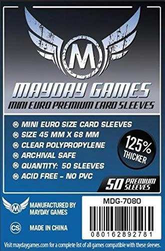 Mayday PREMIUM - Bustine MINI Euro 45x68mm (50)