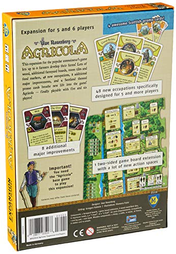 Mayfair Games mfg03516–de Tablero Agricola Expansion 5–6Players