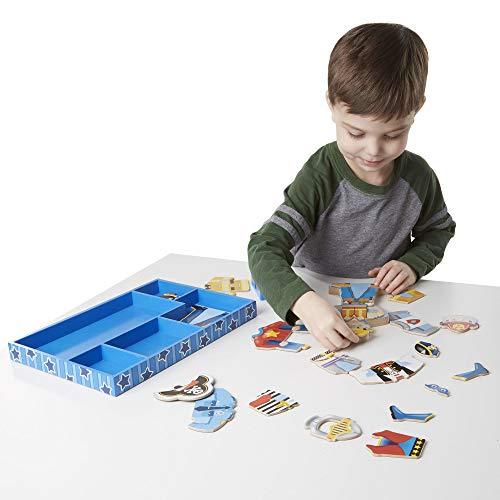 Melissa & Doug 13550 - Billy para juego magnético imaginativo , Modelos/colores Surtidos, 1 Unidad
