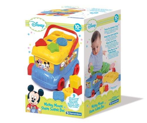 Mickey Mouse - Autobús con Piezas para Encajar (Clementoni 14395)