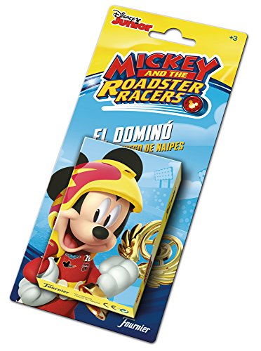 Mickey Mouse- Baraja Infantil, Multicolor (Naipes Heraclio Fournier 1034796)