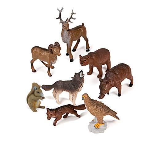 Miniland Animales del Bosque de Juguete (25126)