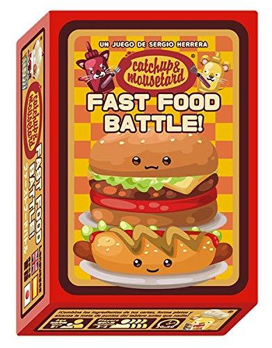 MIXIN Catchup and Mousetard: Fast Food Battle - Juego de Mesa [Castellano]