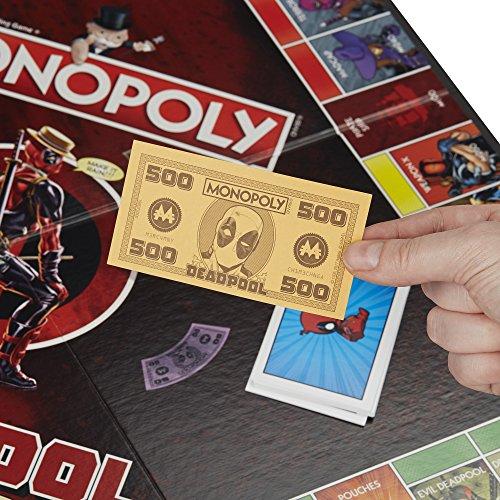 Monopoly Deadpool Marvel Heroes - Juego de Mesa (versión Francesa)