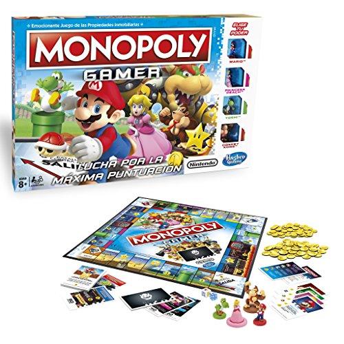 Monopoly Juego de Mesa, Multicolor (Hasbro C1815105)