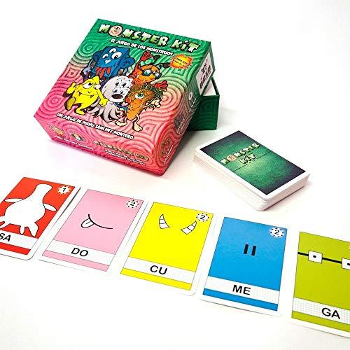 Monster Kit - segunda edicion - juego de mesa para niños (edición en castellano)