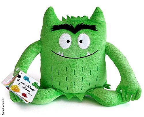 Monstruo De Colores Peluche, color Verde