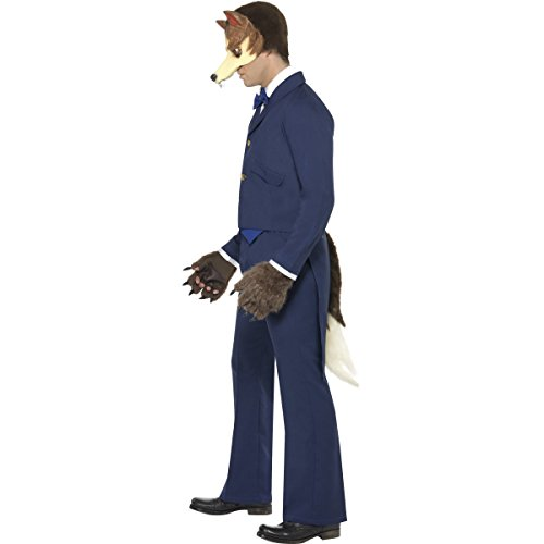 MR Wolf - Adult Fancy Dress Costume - Medium (disfraz)
