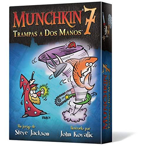 Munchkin - 7: Trampas a Dos Manos, Juego de Mesa (Edge Entertainment MU07)
