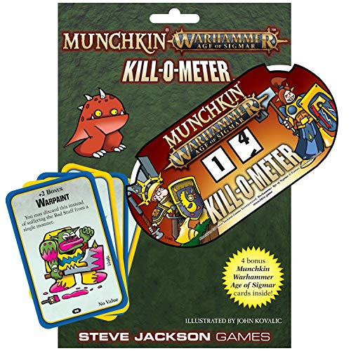 Munchkin Warhammer Age of Sigmar Kill-O-Meter - Medidor de frecuencia cardíaca