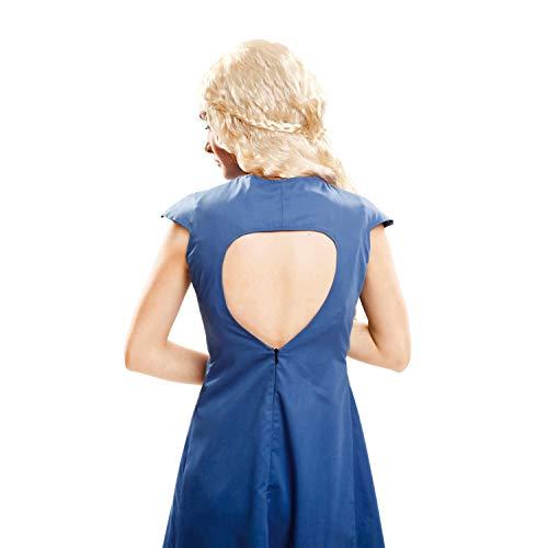 My Other Me Me-202062 Disfraz de Reina Dragón para mujer, color azul, M-L (Viving Costumes 202062)
