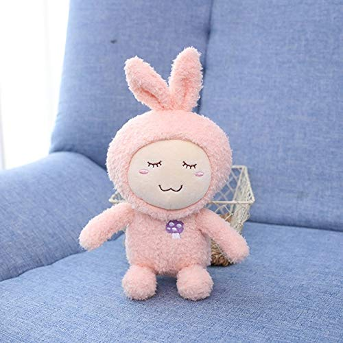 N / A Cute Cartoon Plush Toy 18Cm Sleep Toy Cute Forest Animal Elk Monkey Bear Rabbit Plush Toy Regalo del día de los niños para niños 18CM