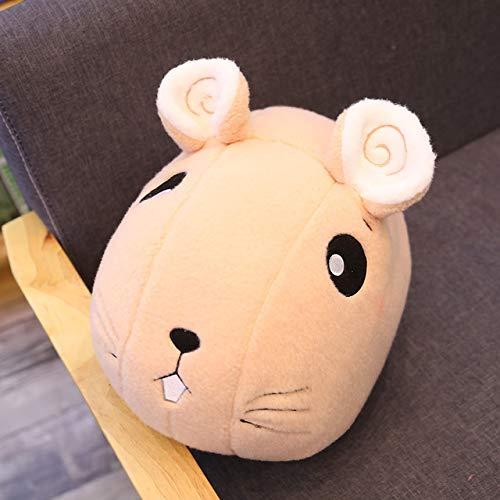 N / A Dibujos Animados ratón Gordo muñeca de Peluche de Peluche Suave Animal de Peluche muñeca Linda Almohada sofá Cama cojín para niño niña Kawaii Regalo 45 cm