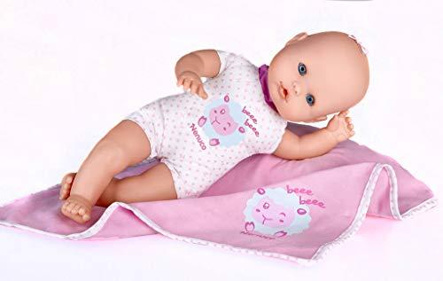 Nenuco de Famosa 700012123, Recién Nacido - Muñeco infantil con Sonidos de Bebé, Colores/Modelos surtidos, 1 pieza
