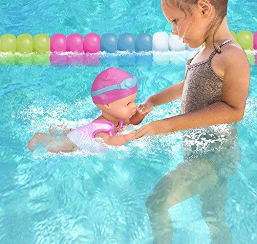 Nenuco Nadador- Muñeco bebé interactivo (Famosa 700014071)