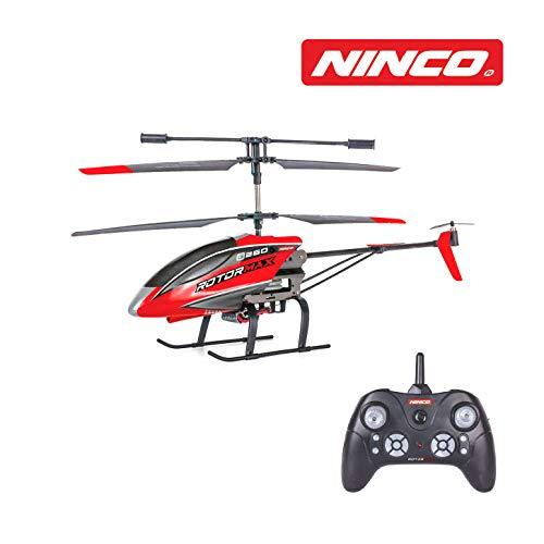 Ninco NH90136 NincoAir. Helicóptero teledirigido de iniciación. Color Rojo. A Partir de 8 años
