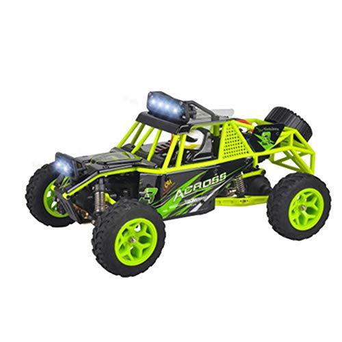 Niños remoto coches de control 01:18 las cuatro ruedas Desierto campo a través del vehículo de control remoto de coches de juguete eléctrico Cool Remote Control System LED de cuatro ruedas, suspensión