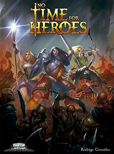 No Time For Heroes- Juego de mesa (Holocubierta HOLNTH01) , color/modelo surtido