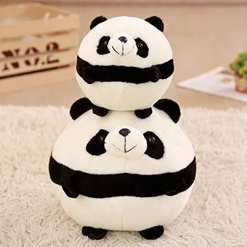 NOBRAND Regalos de Juguetes de Peluche de Juguete Creativo Ronda Almohadas Panda Dibujos Animados de Moda de cumpleaños Suave Decoración portátil Cojín duraderos Juguetes de Peluche Almohada Suave