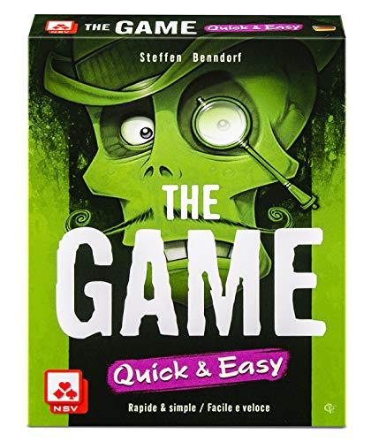 NSV - 4099 - The Game - Quick and Easy - International - Juego de Cartas