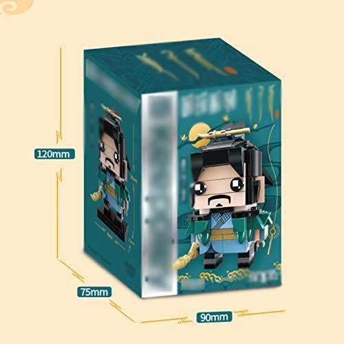 OLMME DIY Diamond Blocks Figura de la película Modelo Juguetes Nano Mini Building Toy Stacking Block Sets Bloques de construcción de Dibujos Animados, para niños Mayores de 6 años