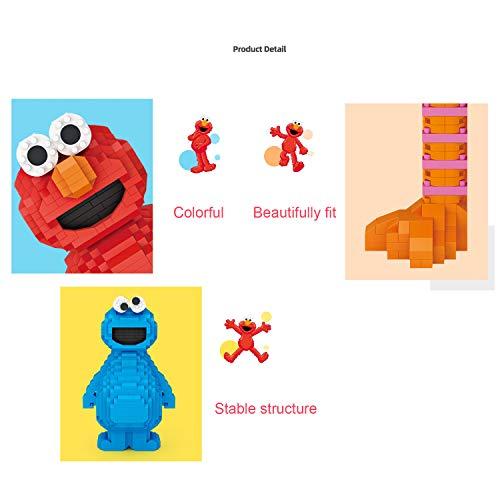 OLMME DIY Diamond Mini Blocks Cartoon Figure Toys Sets (3 Piezas) para Niños Adultos Micro Mini 3D Rompecabezas Modelo Building Blocks Party Gifts 3430Pcs