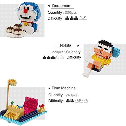 OLMME Micro Bloques de Construcción, Figura Clásica de Dibujos Animados Nano Diamond Block 3D Toy Ladrillo Construcción Juguetes Niños Juguetes Educativos de Aprendizaje(Size:# 1)
