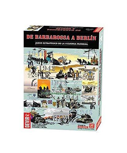 Outletdelocio. Devir BGBARBER. Juego de Mesa De Barbarossa a Berlin. Edicion en Castellano