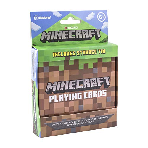 Paladone-PP6587MCF Juego de cartas Minecraft, Multicolor (PP6587MCF) , color/modelo surtido