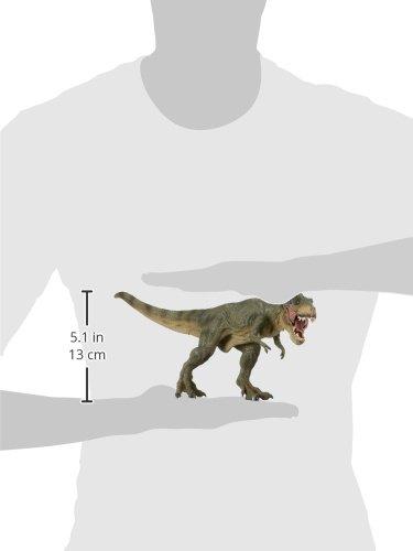 Papo 55027 - Figura de tiranosaurio Rex, Color Verde