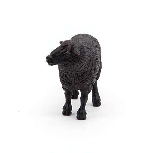 Papo Toys - Figura Oveja, Color Negro (2051167)