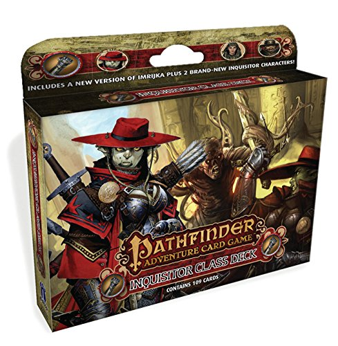 Pathfinder Adventure Card Game: Inquisitor Class Deck
