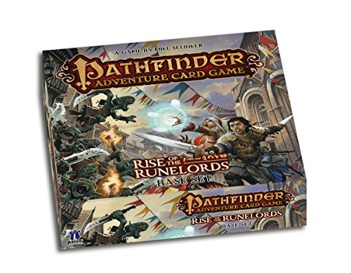 Pathfinder Card Game: Rise of The Runelords Base Set - Juego de Estrategia (Paizo Publishing PAI6000) [Importado]