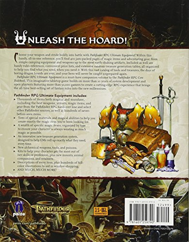 Pathfinder Roleplaying Game: Ultimate Equipment Pocket Edition