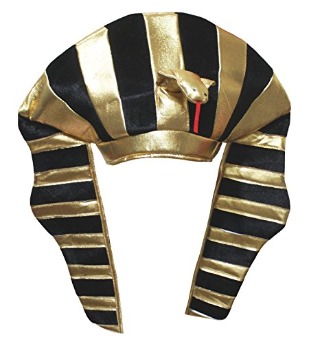 Petitebelle Gold Egypt Pharaoh Hat Unisex Dress Up Party Costume for Children (One Size)