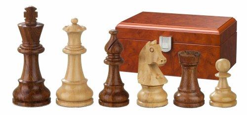 Philos 2062 Sigismund - Piezas de ajedrez (Madera, Altura del Rey 70 mm, en Caja, para 2 Jugadores)