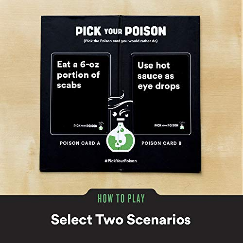 Pick Your Poison Card Game - The Would You Rather...? Adult Party Game [NSFW Edition - Versión Inglesa]
