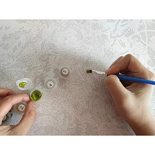 Pintura por números Kits Faraón perro de caza DIY Pintura al óleo Niños Adultos Principiante Lienzo Pintura Vida en el hogar Decoración de oficina Regalos