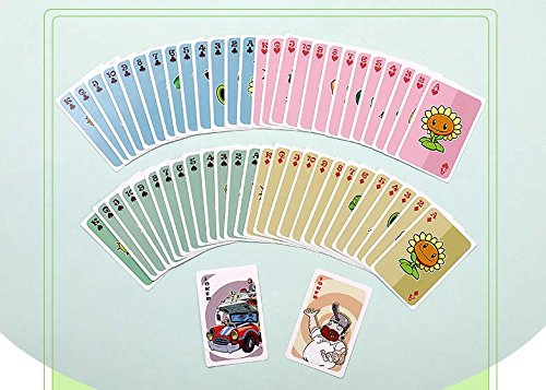 Plants vs. Zombies * 54 Playing Cards / Juego de Poker / Naipes oficial - original & official licensed